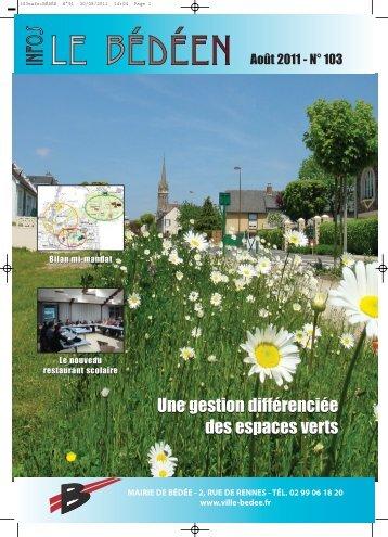vie communale - Ville de Bédée