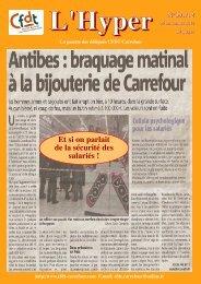 L'Hyper N°391/12 - CFDT Carrefour