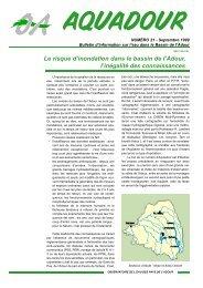 Le risque d'inondation dans le bassin de l'Adour, l'inégalité des ...