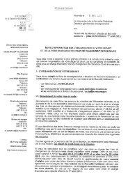 Note d'information - Vice-Rectorat de la Nouvelle-Calédonie
