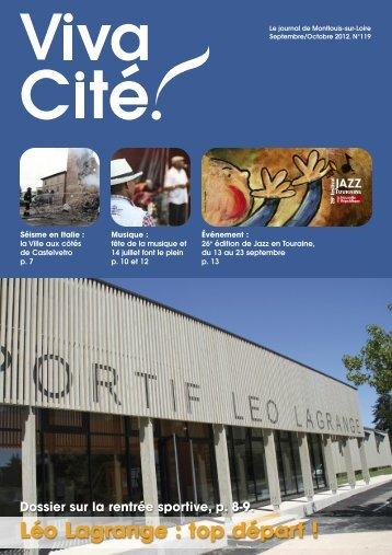 Léo Lagrange : top départ ! - Montlouis-sur-Loire