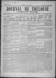 16 Septembre 1874 - Bibliothèque de Toulouse