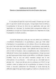 Voir le document PDF - Le Cercle Freudien