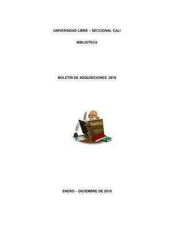 diciembre de 2010 - Universidad Libre