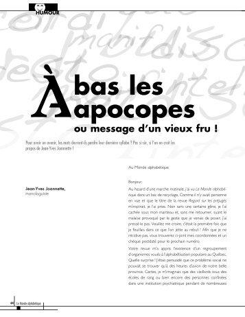Consulter l'article en version PDF