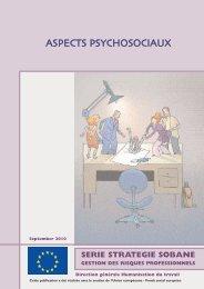 Aspects psychosociaux - Service public fédéral Emploi, Travail et ...