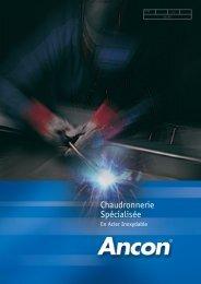 Chaudronnerie Specialisee en Acier Inoxydable - Ancon Building ...