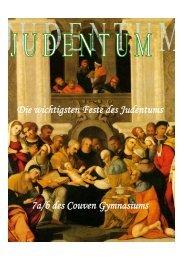Jüdische Feste. - Couven-Gymnasium Aachen