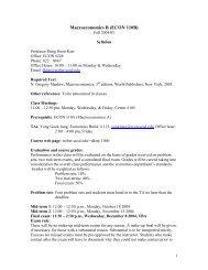 Macroeconomics B (ECON 110B) - Courses