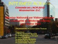 Voir le diaporama - Société Nationale Française de Médecine Interne