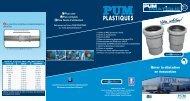 Télécharger Le Catalogue Pum Plastiques