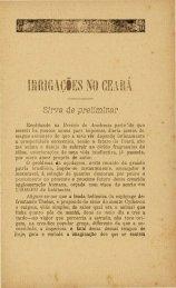 Irrigações no Ceará. Por Th Pompeu Parte 01 - Ceara.pro.br