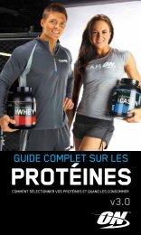 GUIDE COMPLET SUR LES v3.0 - Optimum Nutrition