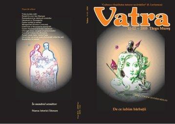 11-12 - 2005 Târgu Mureş De ce iubim bărbaţii - Vatra