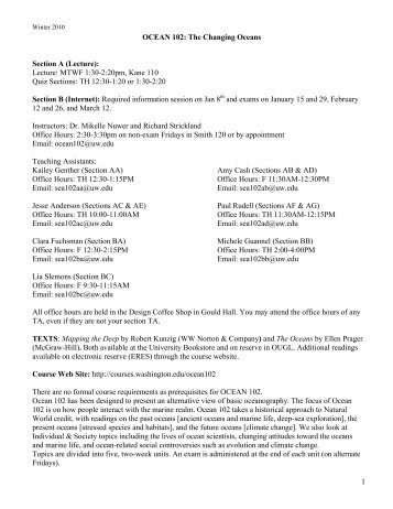uw 330 syllabus The baccalaureate degree in nursing, the master's degree in nursing, and the doctor of nursing practice (dnp) degree at the university of wisconsin-eau claire are accredited by the commission on collegiate nursing education (ccne), one dupont circle nw, suite 530, washington, dc 20036, (202) 887-6791.