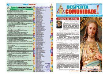 Informativo da Paróquia Nossa Senhora Aparecida