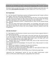 Thema 44: Jesu Verhältnis zum Staat / Zahlung der Tempelsteuer ...