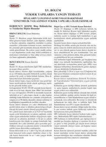 xv. bölüm yüksek yapılarda yangın tes‹satı - Isısan Akademi