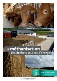 Plaquette méthanisation des déchets sources d ... - Énergies-Centre