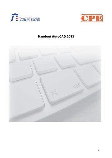 Skript für AutoCAD zum download (pdf) - cpe