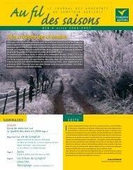 Fil Des Saisons #18 Hiver 2006/2007 - Comptoir Agricole