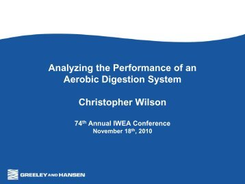 Analyzing the Performance of an Aerobic ... - IndianaWEA.org
