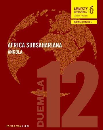 Rapporto annuale 2012 - Rapporto annuale - Amnesty International