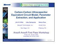 Carbon-Carbon Ultracapacitor Equivalent Circuit Model