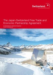 Japan-Switzerland Free Trade and Economic Partnership Agreement