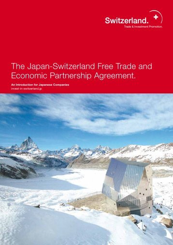 Japan-Switzerland Free Trade and Economic Partnership Agreement