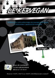 Télécharger notre carte - Le Kervegan