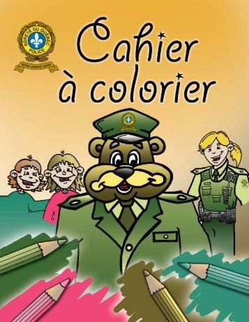 Cahier à colorier - Sûreté du Québec