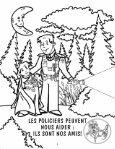 Cahier à colorier - Sûreté du Québec - Page 4