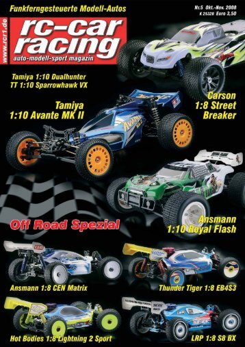 Mit dem 4WD Truggy Royal Flash - Ansmann