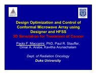 Design Optimization and Control of Conformal Microwave Array ...