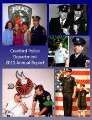 Cranford Police Department 2011 Annual Report - Cranford.com