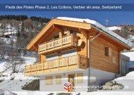 Pieds des Pistes Phase 2, Les Collons, Verbier ski area, Switzerland
