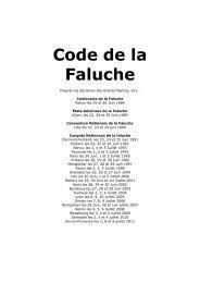 Code National de la Faluche - AE2P