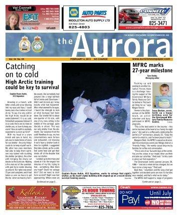 Feb 4 2013 - The Aurora Newspaper