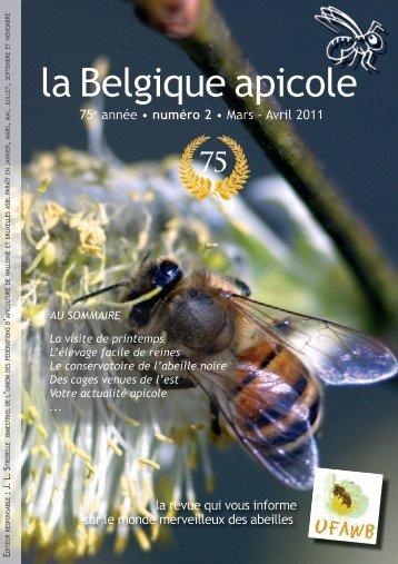 la Belgique apicole