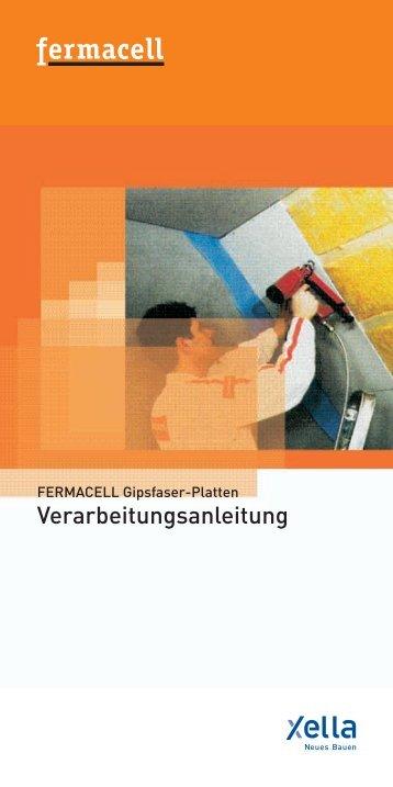 Verarbeitungsanleitung - Xella International GmbH