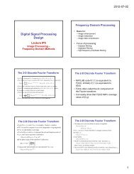 Digital Signal Processing Design