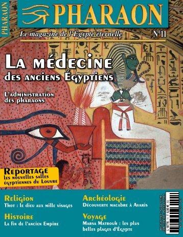 des anciens Égyptiens - Pharaon Magazine