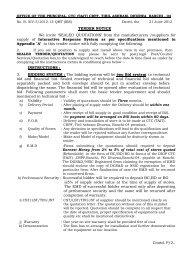 OFFICE OF THE PRINCIPAL, CTC (T & IT) CRPF DHURWA ...