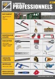 Téléchargez notre Catalogue 2013 Nouveaux tarifs ... - WILMART
