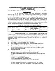 Tender for purchase of Haversack Synthetic, GC CRPF, Allahabad