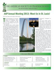 asP annual Meeting 2013: Meet us in st. Louis! - The American ...