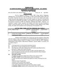 Tender for purchase of Cotton Terry Towel, GC CRPF, Ald - Central ...