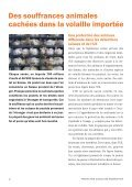 """Flyer """"Volaille importée: une détresse animale cachée"""" - Protection ... - Page 2"""