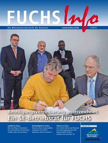 Ausgabe 1 - Fuchs Petrolub AG